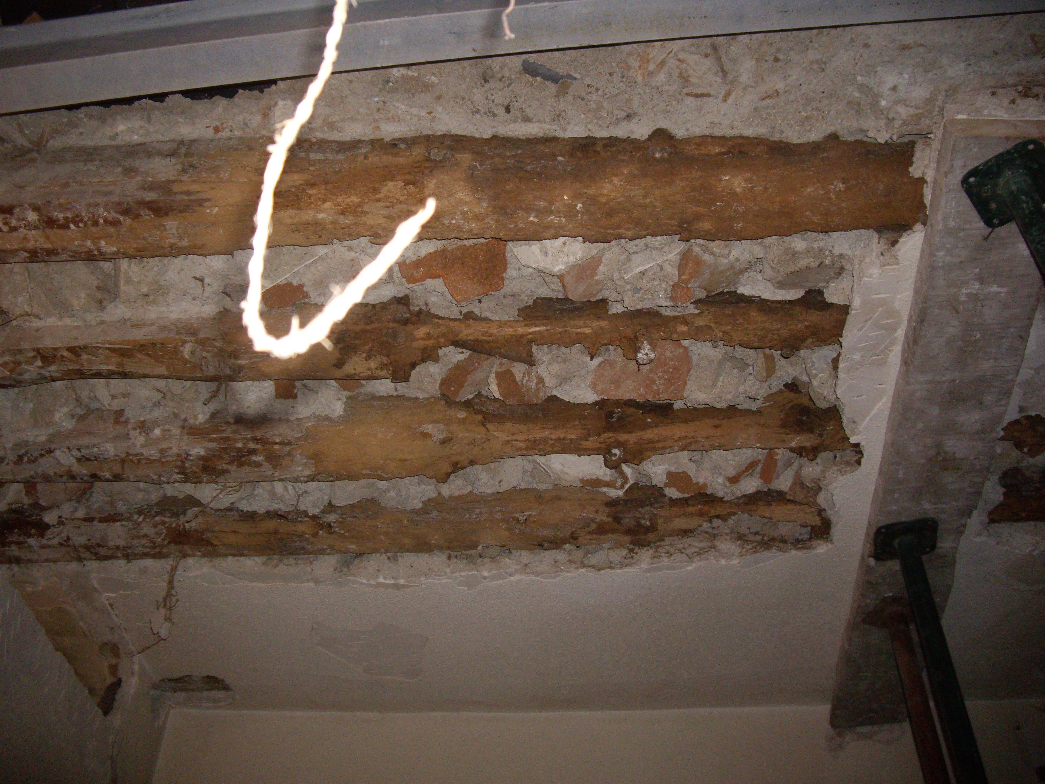 Reparar vigas de madera ite arquitectos - Como colocar vigas de madera ...