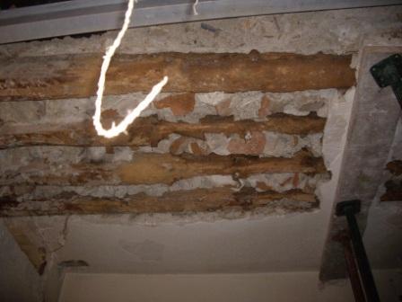 ¿Qué hacer ante una estructura de madera dañada?