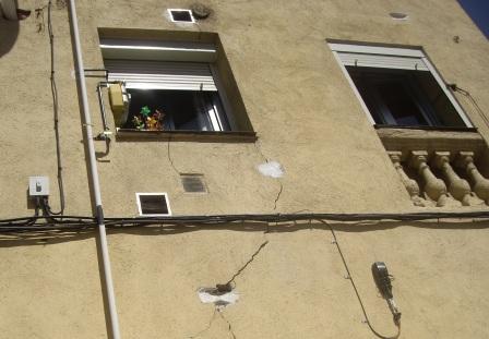 Daños en cimientos: causas
