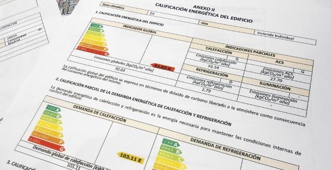 Como obtener el certificado energético