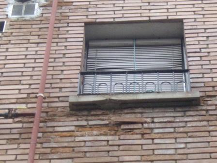 Lesiones habituales en fachadas de ladrillo visto